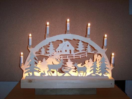 Laubsägearbeiten: Bild zum Thema Lichterbögen | Bild: Lichterbogen012.jpg