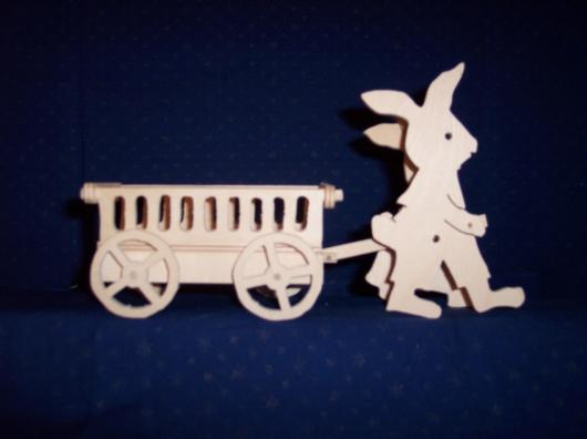 Laubsägearbeiten: Bild zum Thema Ostern und Frühling | Bild: Ostern_Fruehling016.jpg