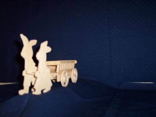 Laubsägearbeiten: Bild zum Thema Ostern und Frühling | Bild: Ostern_Fruehling019.jpg