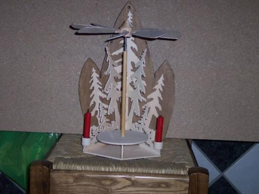 Laubsägearbeiten: Bild zum Thema Pyramiden | Bild: Pyramide005.jpg