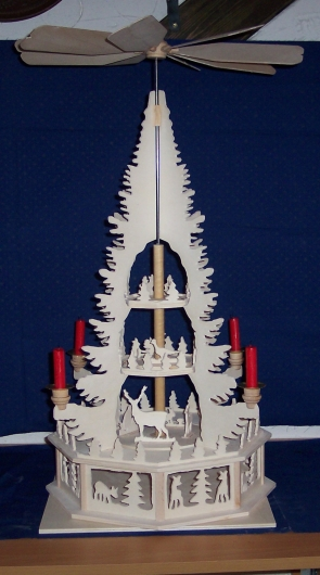 Laubsägearbeiten: Bild zum Thema Pyramiden | Bild: Pyramide013.jpg