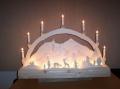 Laubsägearbeiten: Bild zum Thema Lichterbögen | Bild: Lichterbogen004.jpg