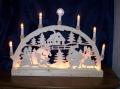 Vorschau | Motiv: Schwibbogen mit Kerzen
